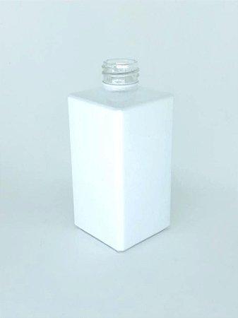 Vidro square 250ml branco (sem válvula)