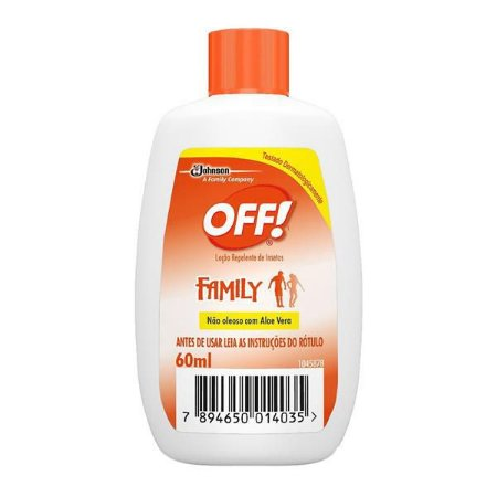 Repelente OFF family 60ml