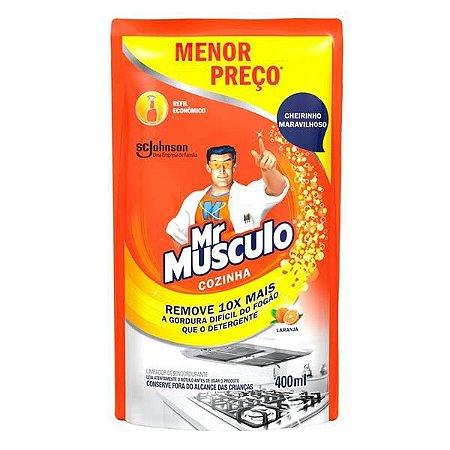 Desengordurante Mr.Musculo Cozinha Refil Sache 400ml