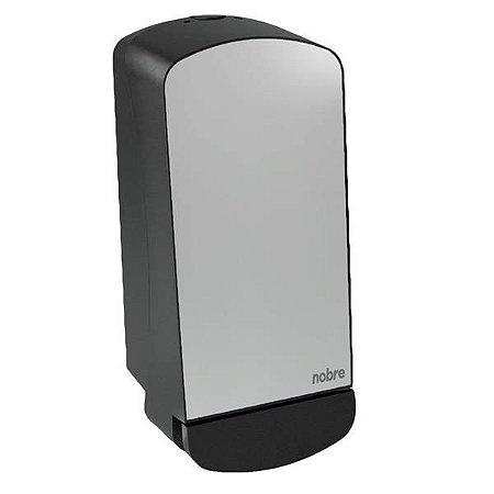 Dispenser saboneteira 800ml com reservatorio Nobre Select (frente em inox) Polido - Nobre