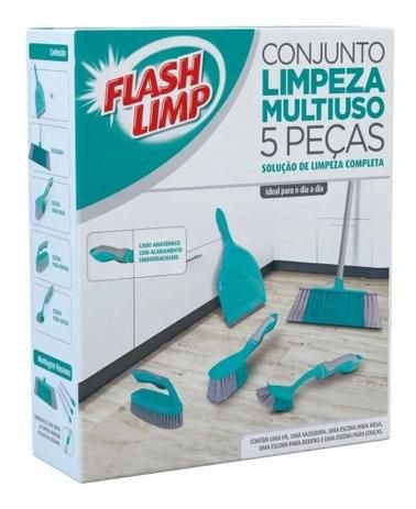 CJ. PARA LIMPEZA MULTIUSO 5 PC FLASHLIMP
