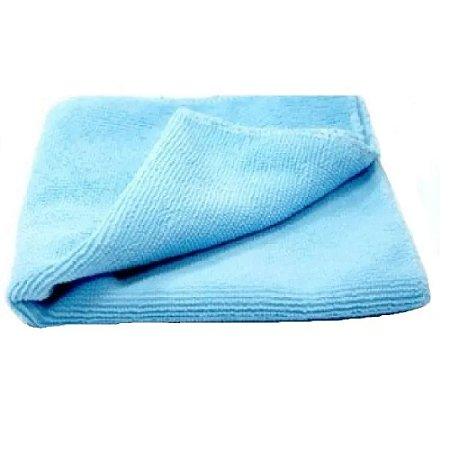 Pano de microfibra 20x20cm azul (pacote c/2un) NOBRE