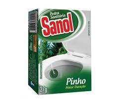 PEDRA SANITARIA PINHO SANOL 27G