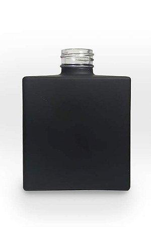 Vidro cube 250ml preto fosco (sem válvula)