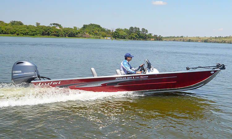 Barco Levefort Apolus Fish Freestyle Levedeck S - Versão 600