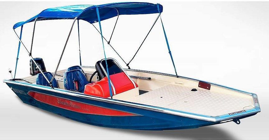 Barco Black Bass MT 5.0 (c/ comando) Indicação motor 40 a 60HP - Casco