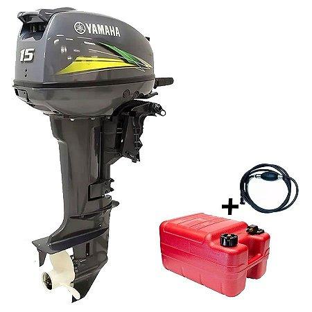 Motor de Popa Yamaha 15 Hp Modelo Gmhs Preço especial Produtor Rural e PJ Sul e Sudeste - Aproveite dólar congelado