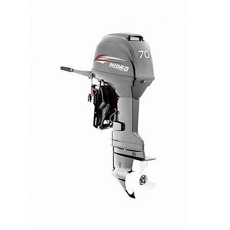 Motor de popa Hidea 70 HP 2T - manual - sem trim - Rab. 20 pol.
