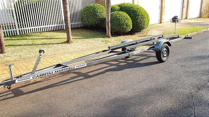 Carreta Rodoviária Tornado Martinelli para barcos de 5 ou 6 metros (Frete a consultar)