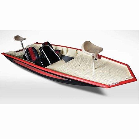 Barco Uai Black Bass 6.0 SS (com comando) indicação motor 25 a 50HP - Casco