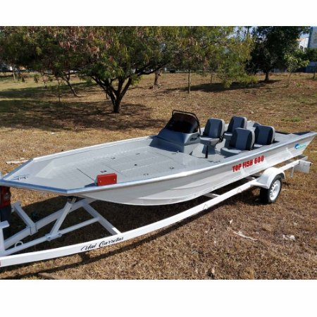 Barco Uai Top Fish 600 (somente o casco)