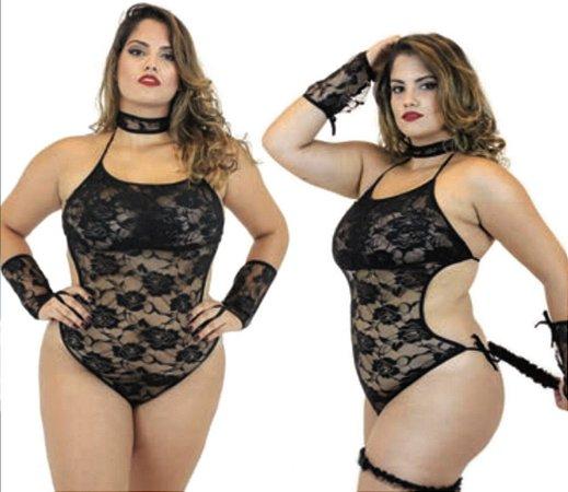 Fantasia Plus Size - Pantera Negra