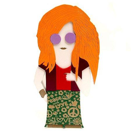 Boneca Janis Joplin MDF