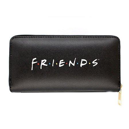 Carteira Logo Friends Preta