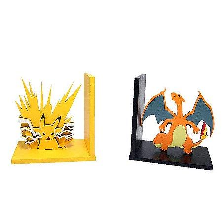 Aparador de Livros Pokemón