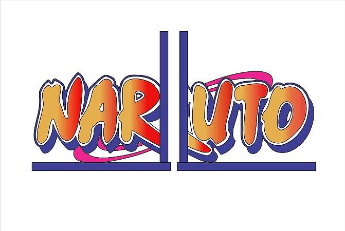 Aparador de Livros Naruto