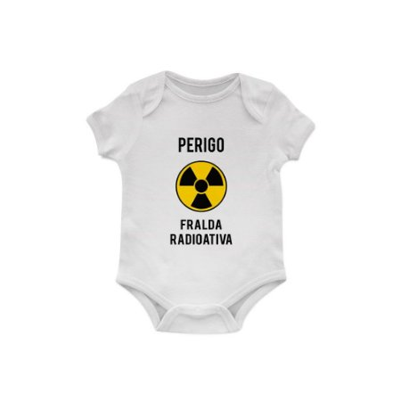 Body Bebê Perigo, Fralda Radioativa