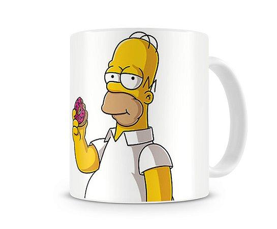 Caneca Homer Simpson Donuts