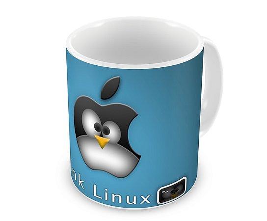 Caneca Think Linux