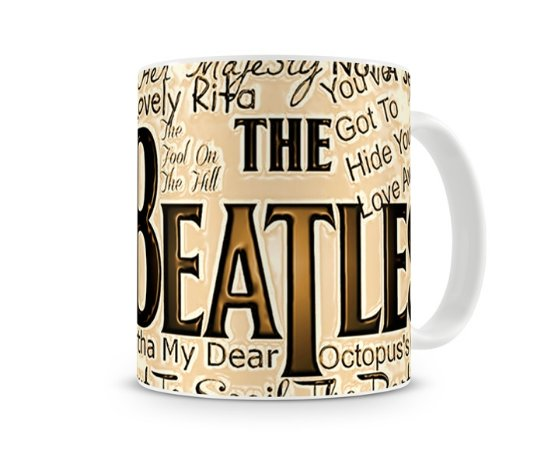 Caneca The Beatles Songs