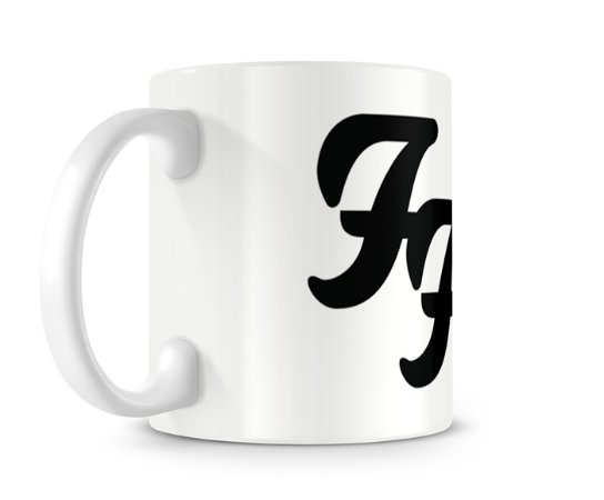 Caneca Foo Fighters Branca