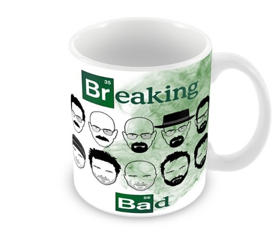 Caneca Breaking Bad Faces