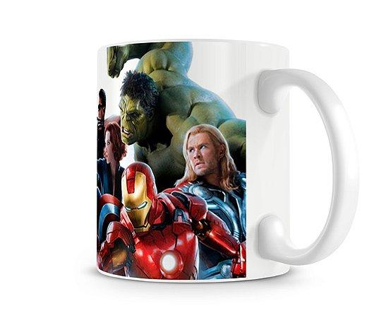 Caneca Vingadores Marvel