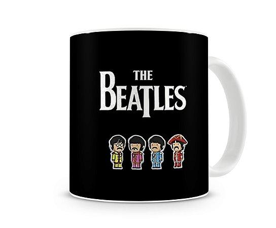 Caneca Beatles Desenho