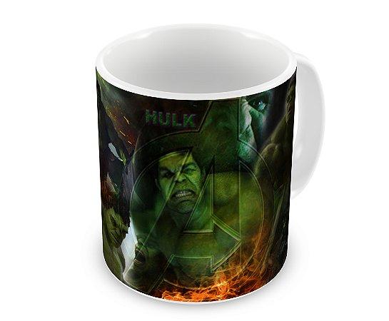 Caneca Hulk Fogo