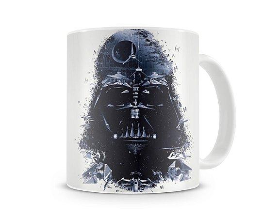 Caneca Star Wars Darth Vader Estrela