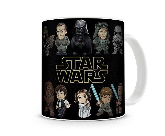 Caneca Star Wars Desenho
