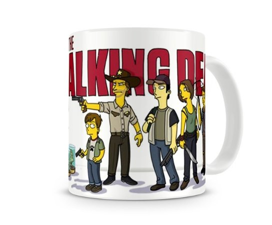 Caneca The Walking Dead - Simpsons