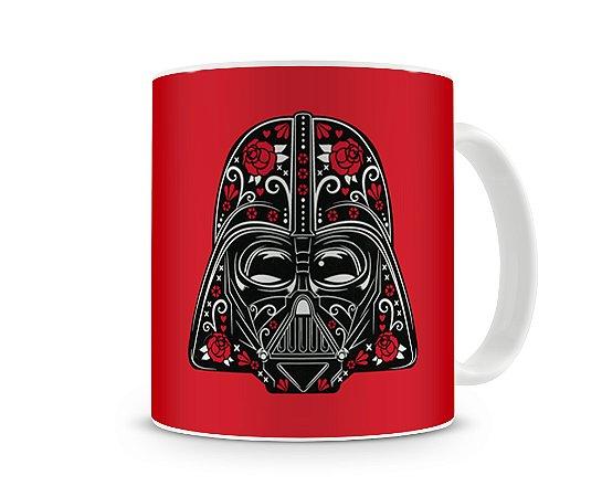 Caneca Star Wars Darth Vader Red