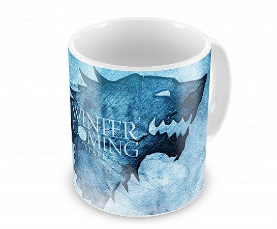 Caneca Game of Thrones Winter