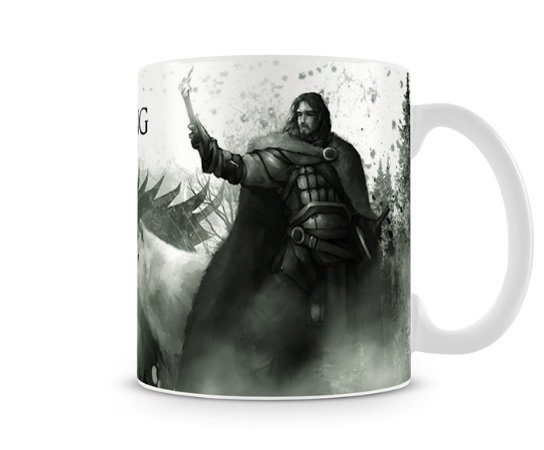 Caneca Game of Thrones Winter is Coming White