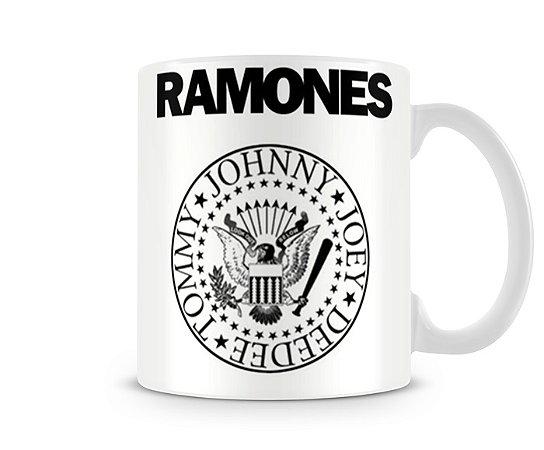 Caneca Ramones Branca