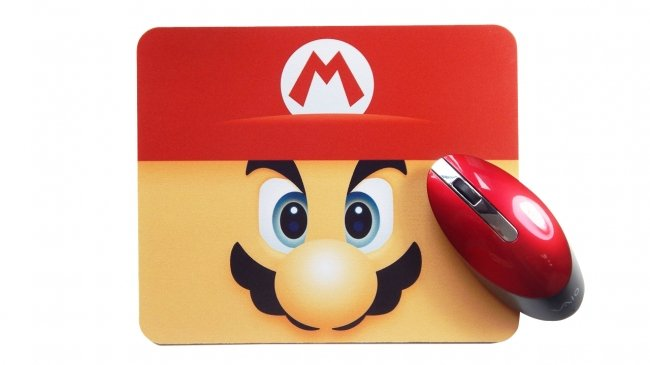Mousepad Mario Bros