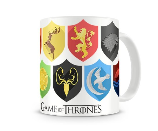 Caneca Game of Thrones Escudos