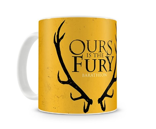 Caneca Game of Thrones Ours is the Fury