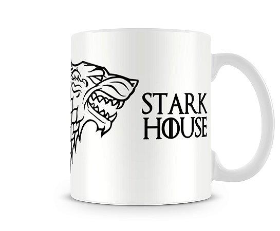 Caneca Game of Thrones Stark White