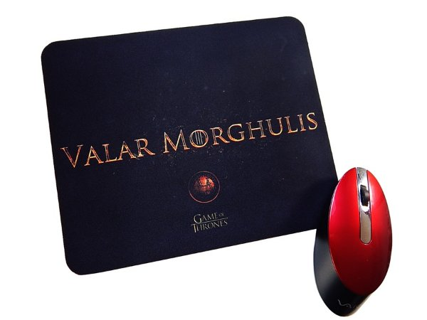 Mousepad Game of Thrones  Valar Morghulis