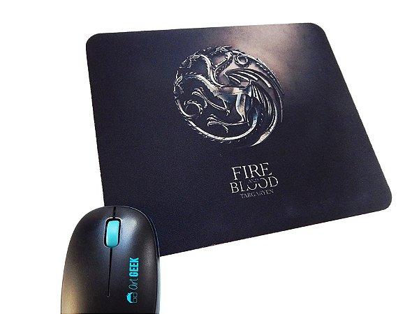 Mousepad Game of Thrones Targaryen Dark