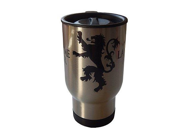 Caneca térmica para carro Game of Thrones Lannister