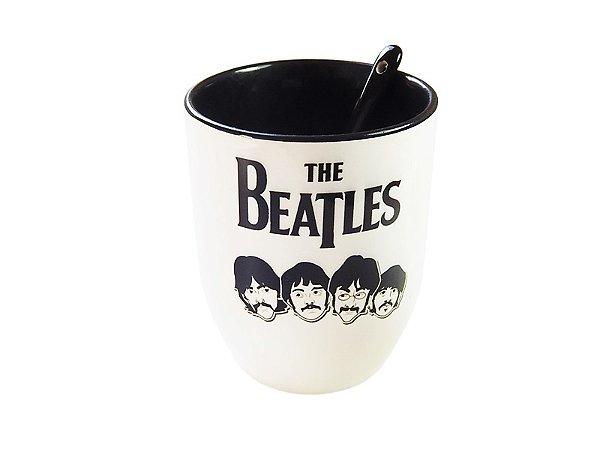 Caneca com colher Beatles