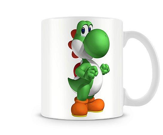 Caneca Mario Bros Yoshi