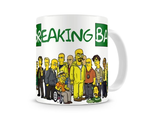 Caneca Breaking Bad The Simpsons Personagens III