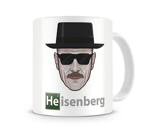 Caneca Breaking Bad Heisenberg Desenho
