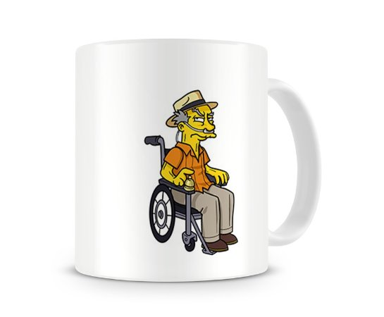Caneca Breaking Bad Simpsons Hector Salamanca