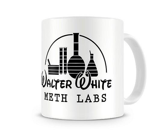 Caneca Breaking Bad Walter White Meth Lab