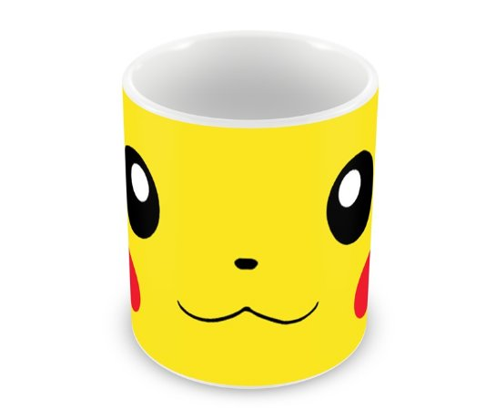 Caneca Pokémon Pikachu Face I